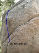 Rock Climbing Photo: Wu Tang Clan (V1), Tramway