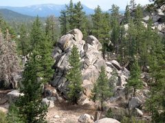 Rock Climbing Photo: Closet Crag, Holcomb Valley Pinnacles