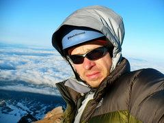 Rock Climbing Photo: Hood summit self portrait
