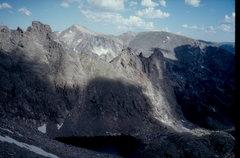 Rock Climbing Photo: The Hayden Spires viewed from Sprague Mountain.
