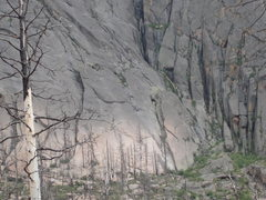 Rock Climbing Photo: Lower right side of Land that Time Forgot
