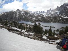 Rock Climbing Photo: Island Lake