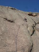 Rock Climbing Photo: Roto top. Third pitch