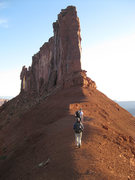 Rock Climbing Photo: Hiking with Lee Jensen to The Priest, May 2009.  P...