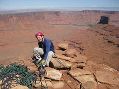 Rock Climbing Photo: Atop The Priest, May 2009.  Photo by Tristan Higbe...