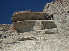 Rock Climbing Photo: Obligatory butt shot on Triple Overhangs, July 200...