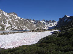 Rock Climbing Photo: Titcomb Basin