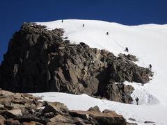 Rock Climbing Photo: NOLS Group on Summit Ridge