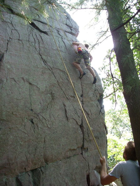 Rock Climbing Photo: Mother and Apple Pie.
