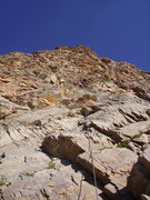 "Rock Climbing Photo: Me on the first pitch. ""There's some lovely f..."