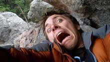 Rock Climbing Photo: scared