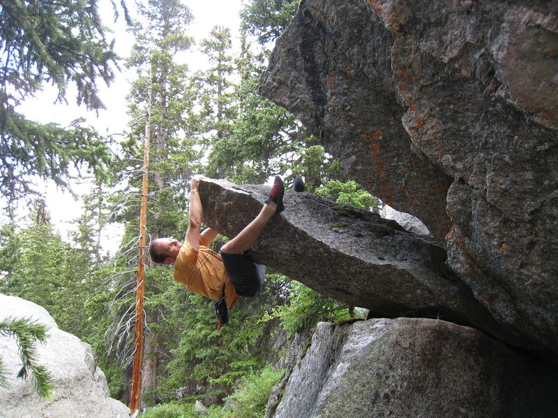 The double heel hook is the preferred method.