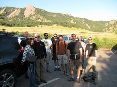 Rock Climbing Photo: Group photo with Shawn
