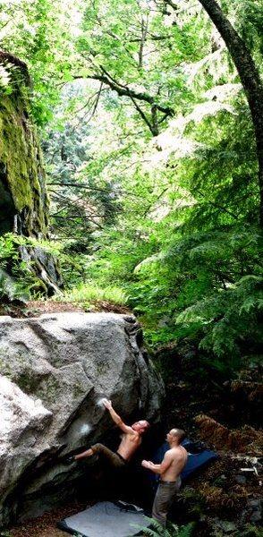 Rock Climbing Photo: Ryan Thomas on Autobot