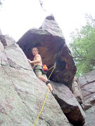 Rock Climbing Photo: Vinny, sending directly.