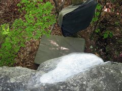 Rock Climbing Photo: the turtle shell sloper on terrapin top out