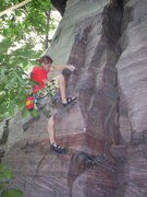 Rock Climbing Photo: Hot undercling action!