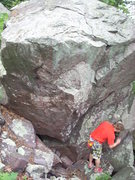 Rock Climbing Photo: Boulder below Birdfoot.