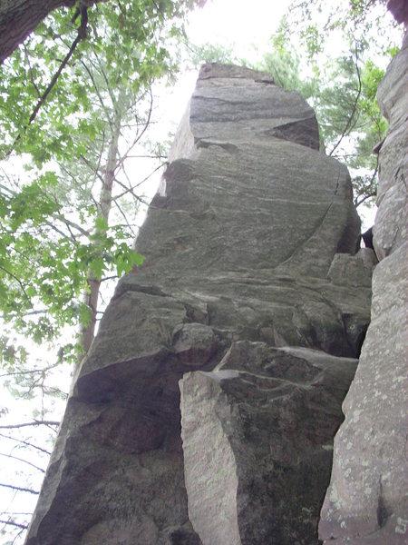 Rock Climbing Photo: 5.7 ridge route.