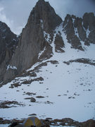 Rock Climbing Photo: Above Iceberg Lake