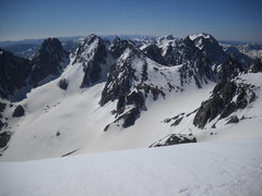 Rock Climbing Photo: Bonnie Pass from Gannett