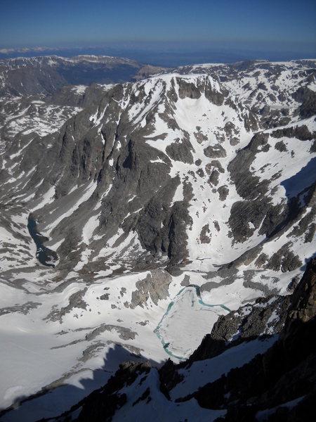 Melting Glacier from Summit