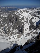 Rock Climbing Photo: Melting Glacier from Summit