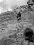 Rock Climbing Photo: Black Rose