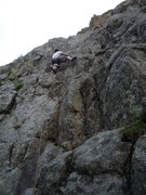 Rock Climbing Photo: Nice on a hot day with no snow!