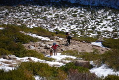 Rock Climbing Photo: This shows the hike up to The Fortress in the midd...