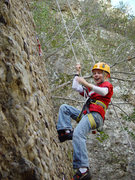 Rock Climbing Photo: Ethan on (or more accurately, off) Ezra, October 2...