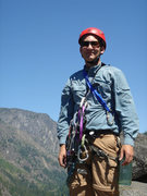 Rock Climbing Photo: Atop Castle Rock, July 2007.  Photo by Gwen Blanch...