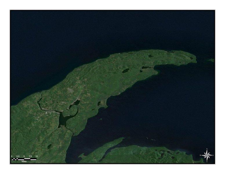 The Keweenaw Peninsula