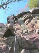 Rock Climbing Photo: I copied this pic and lightened it up in Picassa f...