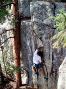 Rock Climbing Photo: In Line, Boulder Canyon