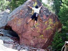 Rock Climbing Photo: Red Rock, Eldorado Canyon