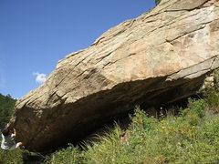 Rock Climbing Photo: Sand Boulder, Evergreen