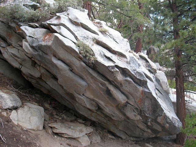 Rock Climbing Photo: Cockroach (aka Titanic) Boulder, Tramway