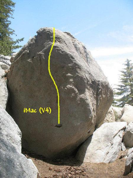 Rock Climbing Photo: iMac (V4), Tramway