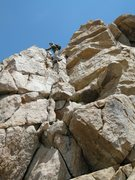 Rock Climbing Photo: The second 4th class section is a bit longer, mayb...