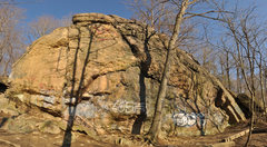 Rock Climbing Photo: The main wall at Ilchester