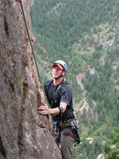 Rock Climbing Photo: The airy arete on Rewritten