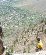 Rock Climbing Photo: the great view overlooking east side of SLC