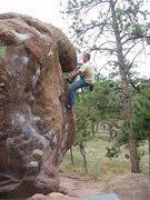 Rock Climbing Photo: South Face.