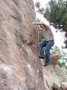 Rock Climbing Photo: Tree Slab'n
