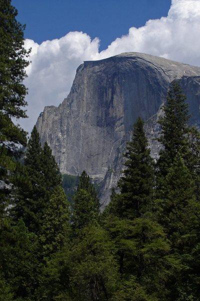Rock Climbing Photo: Another Half Dome shot