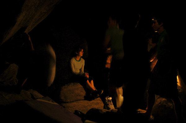 Bloodsport cave