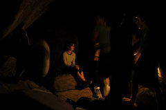 Rock Climbing Photo: Bloodsport cave