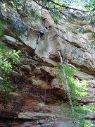 Rock Climbing Photo: Hiiiiiiiya!