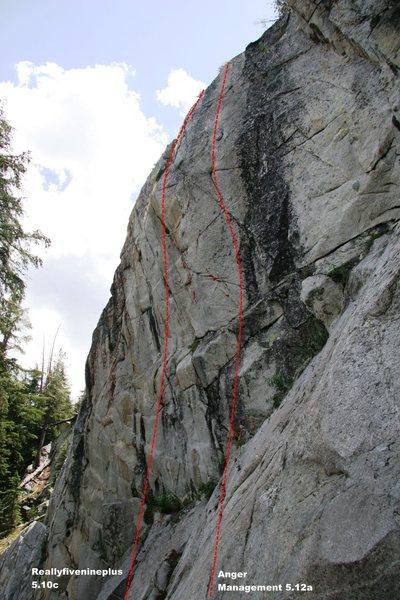 Spring Wall Left Topo